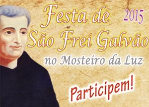 Festa de São Frei Galvão 2015